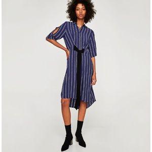 Zara Long Tunic Dress with belt